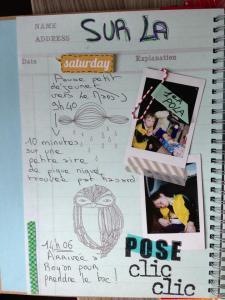 Photos Pola sur une page SmashBook
