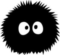 Dust Ball Totoro