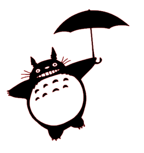Totoro paprapluie